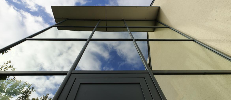 transformation façade vitrée