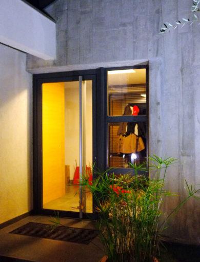 Porte d'entrée isolation pergola