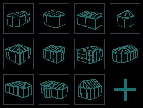 Les différentes formes de véranda aluminium
