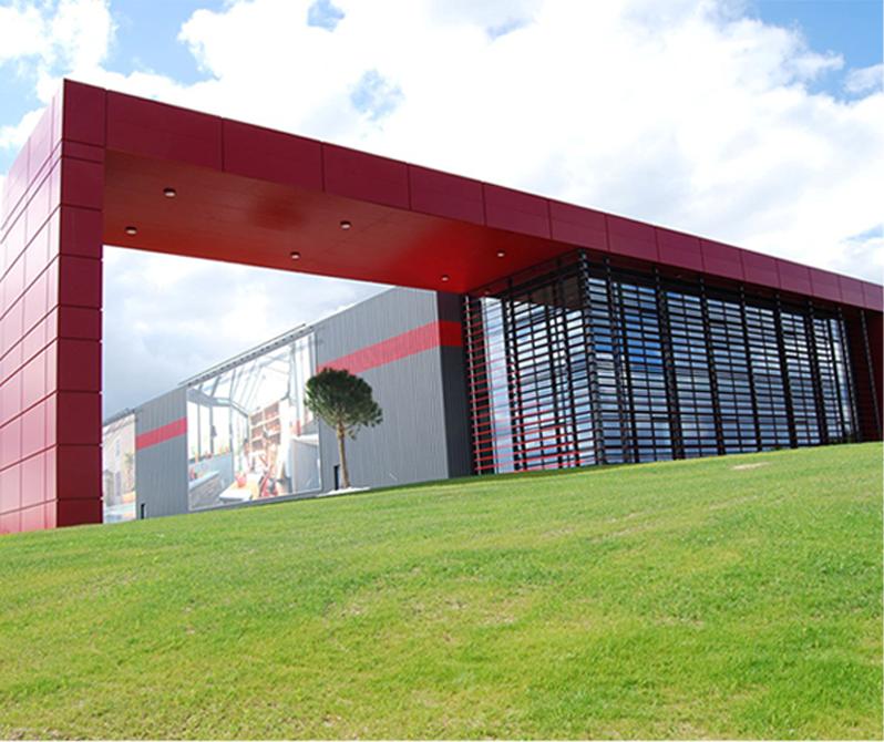 Une usine de production dédiée