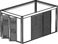 Type de carport avec options